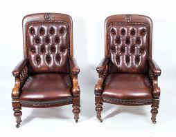 Antique Pair English Victorian Leather Armchairs C.1880 Early Victorian Mahogany And Leather Armchair C 1850 United 19th Century Pair Of English Armchairs For Sale Stunning Antique Marylebone Antiques Quality 1870 England From Deep Buttoned C1850 429276 Burgundy Gentlemans Chairs Accent Chair Whit Oval Back And Arm Occasional Ideas