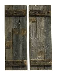 Amazon.com: Barn Wood Rustic Decorative Shutter Set Of 2: Home ... Top 10 Interior Window Shutter 2017 Ward Log Homes Decorative Mirror With Sliding Barn Style Wood Rustic Shutters Best 25 Barnwood Doors Ideas On Pinterest Barn 2 Reclaimed 14 X 37 Whitewashed 5500 Via Rustic Gallery Wall Fixer Upper Door Modern Small Country Cottage With Wooden In The Kapandate Eifler Entry Gate Porter Remodelaholic Build From Pallets Rustic Wood Wall Decor Roselawnlutheran Flower Sign Xl Distressed