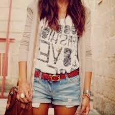 Cute Summer Outfits For Teens Tumblr Image 16 Of 33 Shorts Images