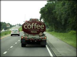 I Am Assuming It Is Liquid Coffee He Is Transporting To A Pilot ...
