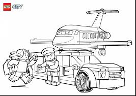 Toys Lego City Coloring Pages