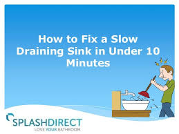 Slow Draining Bathroom Sink Vinegar by 39 Best Slow Drains Images On Pinterest Slow Drain Cleaning