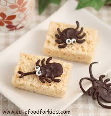 Rice Krispie Treats Halloween Theme by Cute Food For Kids Chocolate Bugs For Halloween Or Bug Theme Party