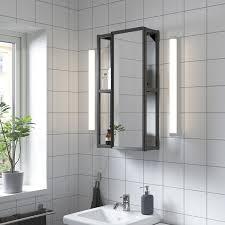 enhet spiegelschrank anthrazit 40x17x75 cm