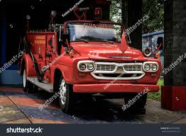 100 Old Fire Trucks Jakarta April 2017 Vintage Stock Photo Edit Now