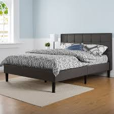 upholstered king platform bed design making upholstered king