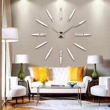Wall Decor Luxurious Decorative Clocks For Living Room Ideas Intended Remodel 9