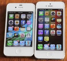 Hands iPhone 4S vs iPhone 5 parison VIDEO