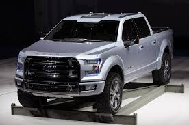 Ford Bringing Production F-150 To Detroit With Atlas Styling And ...