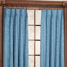 Teal Blackout Curtains Pencil Pleat by Bedroom How To Make Pinch Pleated Drapes Winsome Sheer Window