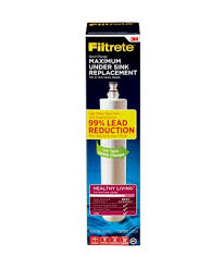 filtrete maximum under sink water filtration filter
