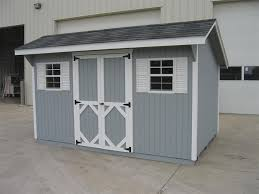 wood classic saltbox shed