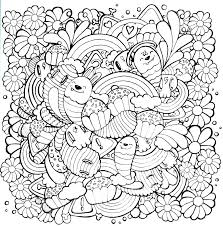 Kawaii Coloring Pages With And Miss Fruit Desserts Co Cat Crush Colouring