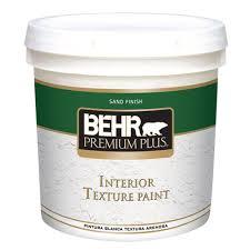 Zinsser Popcorn Ceiling Patch Msds by Behr Premium Plus 2 Gal Popcorn Flat Interior Texture Paint 55902
