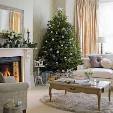 Calm And Beautiful Victorian Christmas Living Room