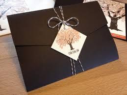SAMPLE Of Fall Oak Tree Pocketfold Tag And Twine Wedding Invitations Rustic Modern