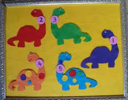 Dinosaur Felt Stories And Activities For Preschool Kindergarten