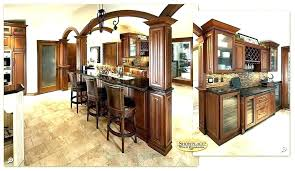 Kitchen Divider Between And Living Room Cabinet Dividers Cabinets