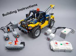 LEGO Technic 42079 Tow Truck (B Model) RC Mod With Building ... Itructions For 76381 Tow Truck Bricksargzcom Dikkieklijn Lego Mocs Creator Tagged Brickset Set Guide And Database Money Transporter 60142 City Products Sets Legocom Us Its Not Lego Lepin 02047 Service Station Bootleg Building Kerizoltanhu Ideas Product Ideas Rotator 2016 Garbage Itructions 60118 Video Dailymotion Custombricksde Technic Model Custombricks Moc Instruction 2017 City 60137 Mod Itructions Youtube Technicbricks Tbs Techreview 14 9395 Pickup Police Trouble Walmartcom