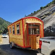 100 Gypsy Tiny House Moon Caravan For Rent In Twain California Listings