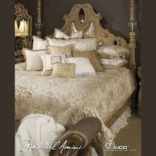 Michael Amini Luxembourg Luxury Bedding Set CMW Sheets & Bedding