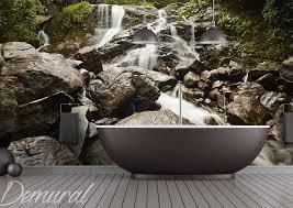 fototapete für badezimmer demural