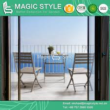 [Hot Item] Outdoor Folding Dining Chair Garden Folden Coffee Table Patio  Furniture Cafe Chair Balcony Leisure Chair