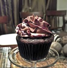 Chocolate Kahlua Cupcake