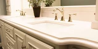 Bathroom Countertop Materials Comparison by Custom Countertops For Kitchen Bar Bath Evansville In