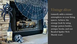 Halloween Fireplace Mantel Scarf by Elegant Halloween Home Décor Ideas From Balsam Hill Balsam Hill