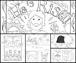 Church Easter Coloring Pages 17