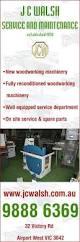 j c walsh service u0026 maintenance woodworking machinery 32