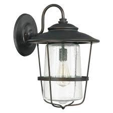 capital lighting fixture company creekside bronze one light