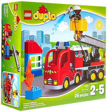 LEGO Duplo 10592 - Fire Truck – Finnegan's Toys & Gifts Lego Duplo 5682 Fire Truck From Conradcom Amazoncom Duplo Ville 4977 Toys Games City Town Fireman 2007 Sounds Lights Lego Station Funtoys 10592 Ugniagesi 6168 Bricks Figurines On Carousell Finnegans Gifts Baby Pinterest Trucks Year 2015 Series Set Fire Truck With Moving 10593 5000 Hamleys For And 4664