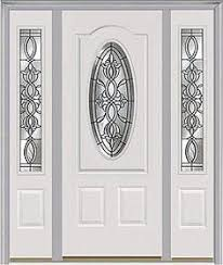 Entry door Door with two sidelites Milliken Millwork Castile