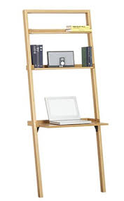a leaning desk in pine and grey leaning desk free diy furniture