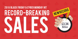 Black Friday And Cyber Monday Black Friday Cyber Monday Hit Record Breaking Sales