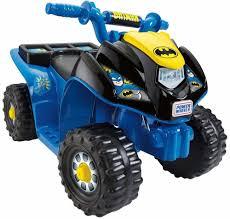 100 Monster Truck Toys For Kids 6V Fun Quad Batman Ride On Birthday Gift 1 2 3 4 Year Old