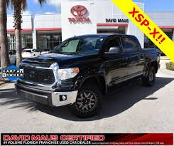 Toyota Tundra Trucks For Sale In Sanford, FL 32771 - Autotrader Used 2011 Toyota Tundra 4wd Truck For Sale In Ordinary Va 231 New 2019 For Latham Ny Vin 5tfdy5f16kx779325 In Pueblo Co Riverdale Ut At Tony Divino Inventory Preowned 2016 Sr5 Crewmax 57l V8 6speed 2017 Limited 4d P3026a 2018 Stanleytown 5tfby5f18jx732013 Sold2004 Toyota Tundra Double Cab Limited 4x2 106k For Sale Call 2010 2wd Crew Cab Pickup Austin Tx Roswell Ga Overview Cargurus