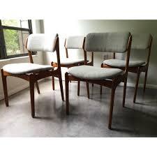 Dining Room Chair Pads Reupholster Best Vintage Erik Buck O D Mobler