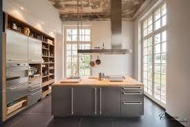 Kitchen Island Modern Interior Stainless Steel Storage Design Big Square Contemporary