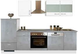 menke küchen küchenzeile mara mit e geräten breite 280cm kaufen otto