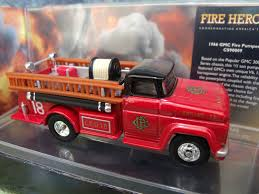 100 1966 Gmc Truck Corgi Fire Heroes GMC Fire Pumper Chicago Fire Department CS90009
