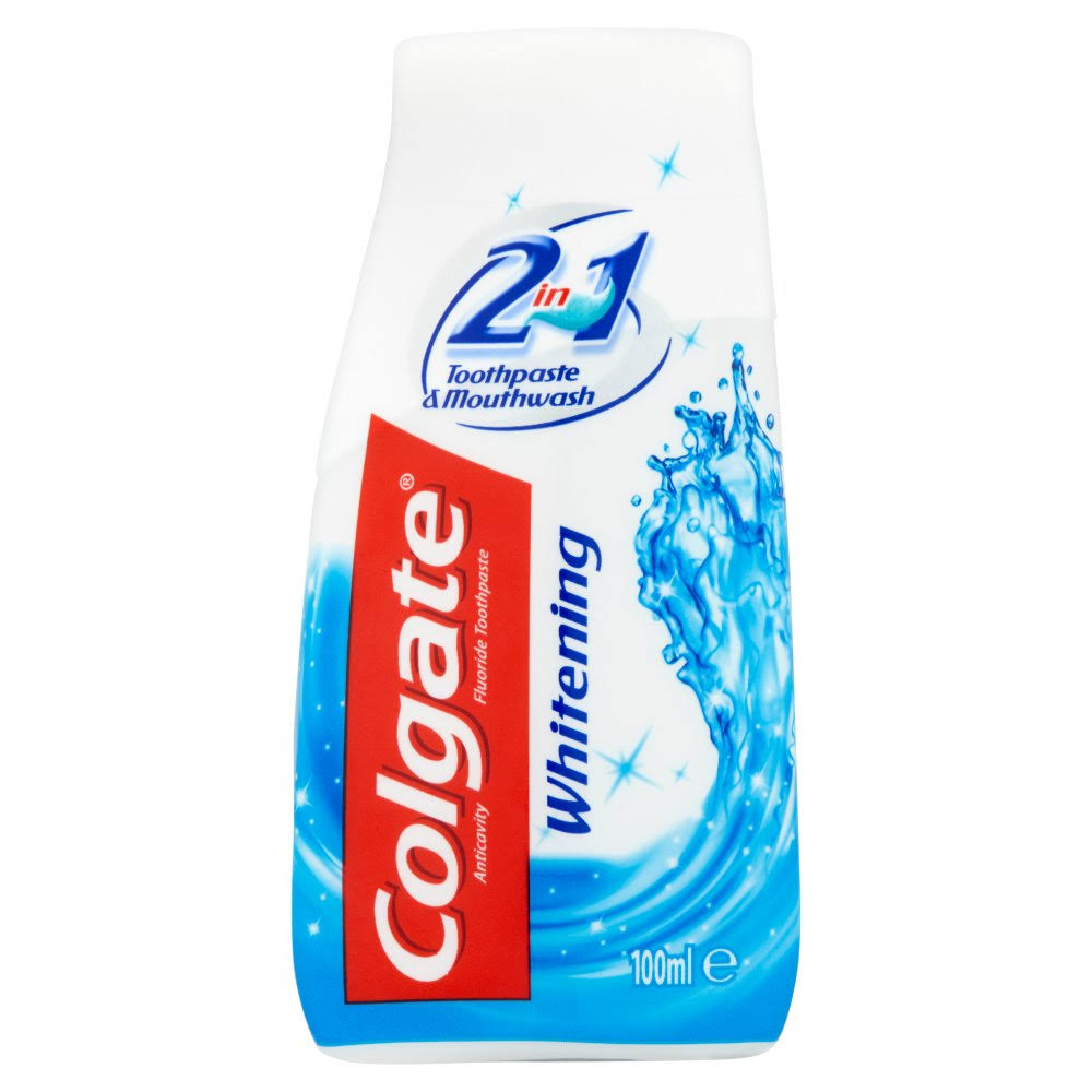 Colgate Whitening Toothpaste and Mouthwash - 100ml