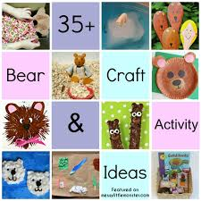 35 Bear Theme Art Craft And Activity Ideas