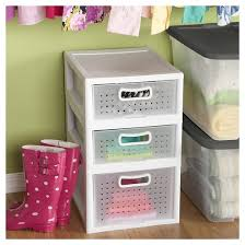 sterilite modular small deep storage bin drawer white target