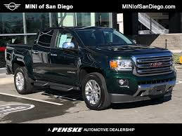 100 Gmc Canyon Truck PreOwned 2016 GMC SLT At MINI Of San Diego 62003LA