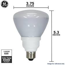 ge 15w r30 cfl daylight compact fluorescent light bulb equal 65w