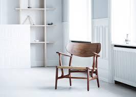 100 Harley Davidson Lounge Chair Carl Hansen Son Reissues Hans J Wegners CH22 Lounge Chair