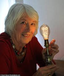 britain s oldest light bulb still shining after an 130